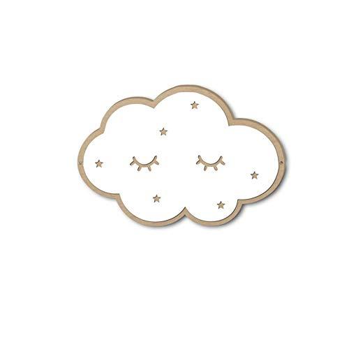 Cloud Wandtattoo (ChuangYing Cloud-Spiegelwand Aufkleber 3D Spiegel Acryl Wandtattoo)
