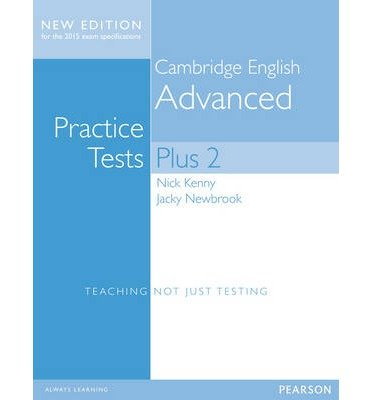 [(Cambridge Advanced Practice Tests Plus New Edition Students' Book without Key)] [ By (author) Nick Kenny, By (author) Jacky Newbrook ] [May, 2014]