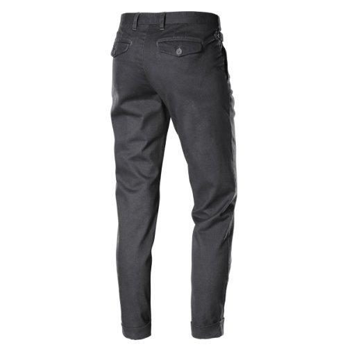 Timezone Damen Hose Normaler Bund, 16-0225 Patricia fashion pants Schwarz (9091 washed black)