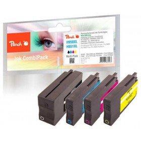 Peach PI300-538 cartucho de tinta Negro, Cian, Magenta, Amarillo 78 ml 27 ml - Cartucho de tinta para impresoras (Tinta a base de pigmentos, Negro, Cian, Magenta, Amarillo, HP, HP OfficeJet Pro 251 dw HP OfficeJet Pro 276 dw HP OfficeJet Pro 8100 ePrinter HP OfficeJet Pro..., 78 ml, 27 ml)