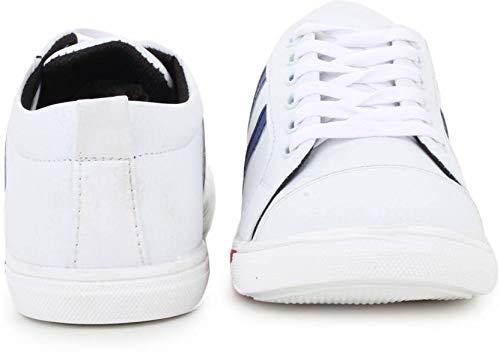 T-Rock Men's Sneakers Blue Canvas 10
