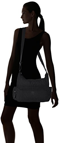 ARTSAC - 50023 Scoop Shoulder Bag, Borsa a spalla Donna Nero (nero)