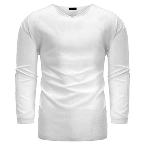 Diamant-streifen-shirt (Herren Hemd Briskorry Leinenhemd Roll-up Sleeve & Lange Ärmel Freizeithemd Casual Sommer Men Shirts Freizeit Männer Hemden)
