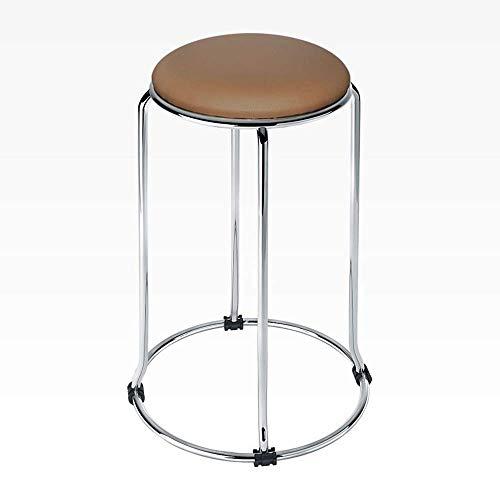 AG Hauptstuhl-Schemel-Klappstuhl-moderner Barhocker-Zähler-Höhen-Barhocker, stapelbarer Geschäft Stoolreative Freizeit-Kaffee-Stuhl, der Stuhl, Hauptdekor-Schemel speist,Blau, - Zähler Höhe Stühle Hocker