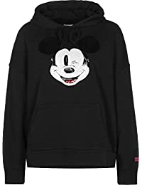 Levis Felpa in Cotone x Mickey Mouse 57597 Black ...