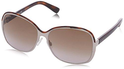 Hogan occhiali da sole ho0040 wayfarer, 34f shiny dark havana