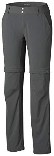 Columbia Damen Saturday Trail Ii Convertible Pant-20w Regular sportliche Hosen, Grill, 20W