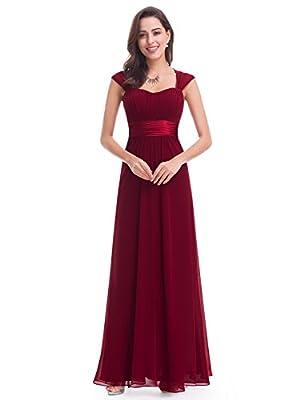 Ever Pretty Women's Sleeveless Floor Length Evening Dress with Empire Waist 08834