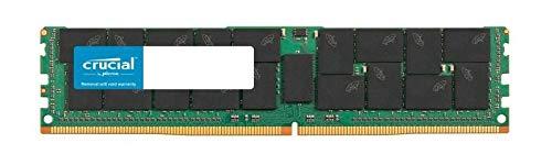 Crucial 64GB Serverspeicher (DDR4, 2666 MT/s, PC4-21300, CL19, Quad Rank x4, ECC, Registrierter DIMM, 288-Pin) - Ecc, Registered Quad