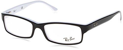 Ray Ban Brille Korrektur 5114 2097 Schwarz/Weiß