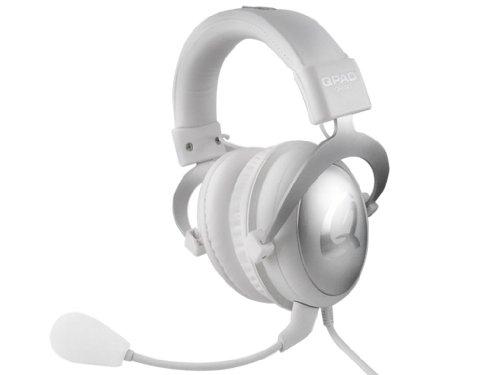 Preisvergleich Produktbild Qpad 3304 QH-90 Pro Gaming Hi-Fi Headset (98±3dB, 3,5mm Klinkenstecker) weiß