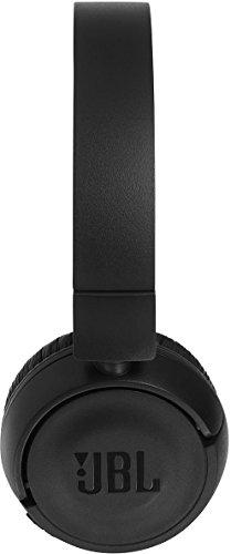 JBL T450BT Kabelloser On-Ear Bluetooth Kopfhörer mit Integrierter Musiksteuerung und Mikrofon Kompatibel mit Apple und Android Geräten -Schwarz - 4