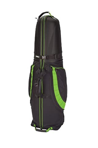 BagBoy T-10 Hard Top Golf Travel Cover, Color- Black/Lime