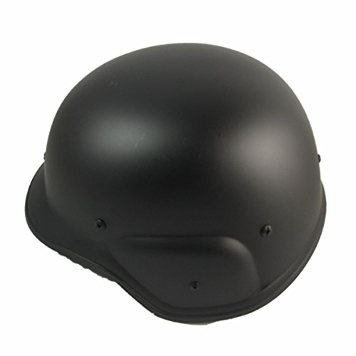 Kostüm Helm Swat - Tactical Airsoft M88 PASGT Swat Military Helm Schwarz