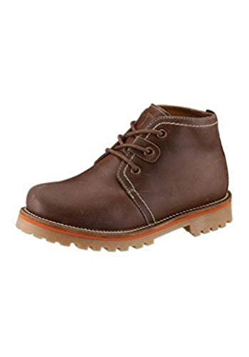 Lace up Boots Boots Ladies From leather of Hush Puppies in brown