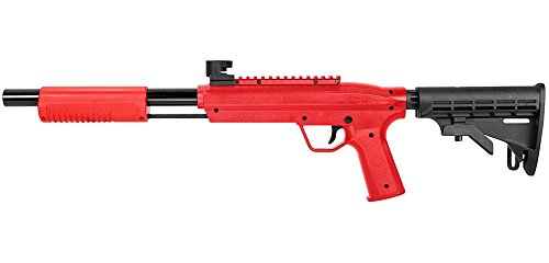Valken Kinder Kids Markierer Tactical Gotcha Gun/Shotgun Cal. 50 (0.5 J) -red Paintball, rot M