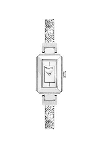 Thomas Sabo Donna - Orologio Da Donna Mini Vintage argento Analogo Quarz WA0330-201-202-23x15,5 mm