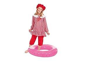 Creaciones Llopis- Disfraz Infantil bañista niña, Multicolor (3399-1)