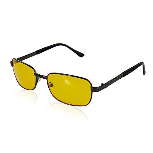 ELENXS Kleidung Accessoires NO 2 (Rot) 2015 Art und Weise polarisierte UV Sonnenbrille der Nachtsicht-Driving Gläser Yellow Linsen et al + Resin UV400 Großhandel