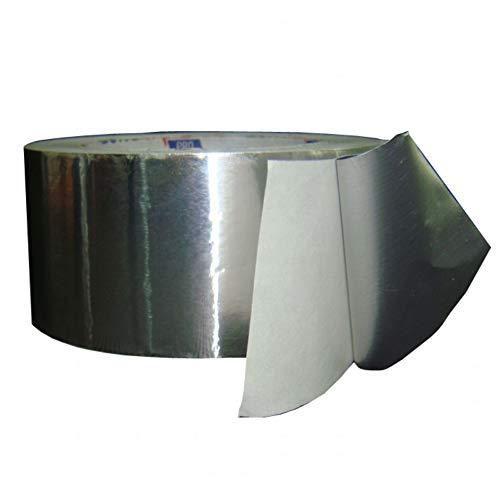 2 Rollen Aluminiumklebeband (50mm x 50 Meter, Reinheit: 99{73e4bb4bd444f8f170b9b52350af5cc47e172005a0743cbe1f11f95daf41aa49}). Alu-Band. Aluklebeband. Aluband. Alutape.