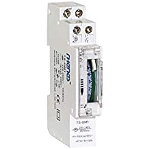 Interruptor horario 1 modulo analogico 230v reserva 100h