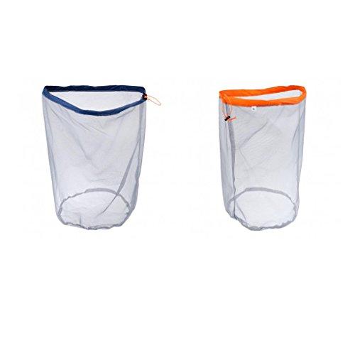 Sharplace 2X Sacoche de Maille Cordon Sac Multipurpose Vêtement Stockage Sac Sport Camping