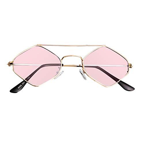 iCerber UV400 Hochwertige Sonnenbrillen Diamantrahmen Sonnenbrillen Metallrahmen Sonnenbrillen Persönlichkeit Fashion Beach Outdoor Sonnenbrillen