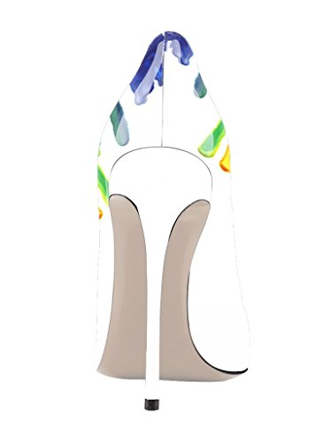 Guoar High Heels Damenchuhe Große Größe Pumps Einfach Stil