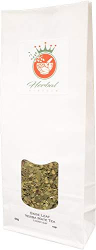 Salbei und Yerba Mate Loser Tee (50g packung) - Salbei Grüner Farbstoff