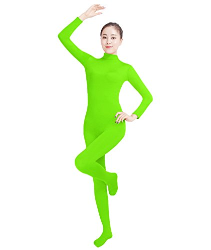 nd Kind Ganzkörperanzug Anzug Kostüm Ganzkörperanzug Halloween Kostüme Leuchtendes Grün L ()