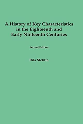 A History of Key Characteristics in the 18th and Early