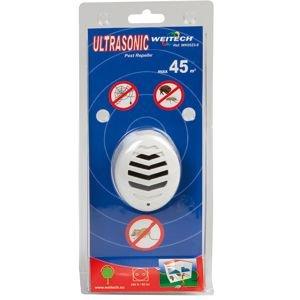 Weitech - Répulsif Ultra Sons Weitech 0523 45 M2 Eloigne Souris Tiques Puces Araignées Rampants