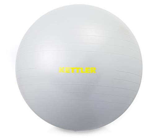 Kettler Unisex- Erwachsene Gym Ball, 65 cm, hellgrau,