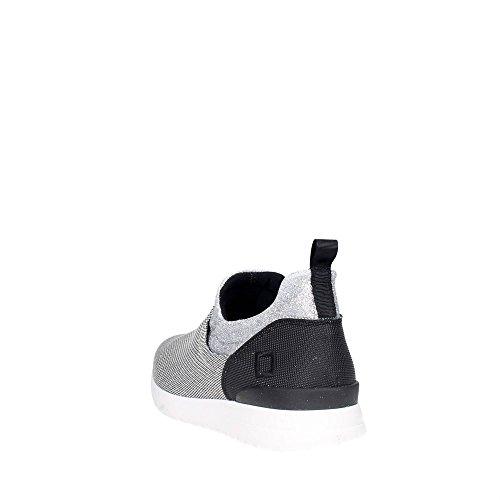 D.a.t.e. SLIP ON-20 Slip-on Chaussures Femme Nylon Argent Argent