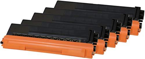 TONER EXPERTE® TN326 5 Toner kompatibel für Brother DCP-L8400CDN L8450CDW HL-L8250CDN L8350CDW L8350CDWT MFC-L8600CDW L8650CDW L8850CDW | TN-326BK 4000 Seiten TN-326C TN-326M TN-326Y 3500 Seiten (Brother Toner-l8600cdw)
