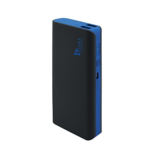 Syska X110 11000mAH Power Bank (Black-Blue)