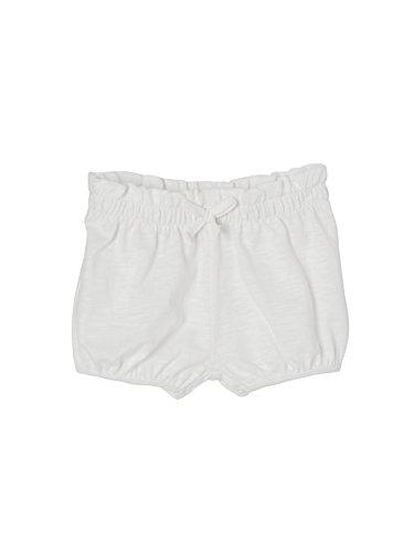 Vertbaudet Baby Mädchen Shorts, Jersey Weiß 80