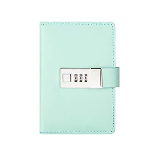 Cuaderno brillante cuero suave - Diario A7 trazo papel