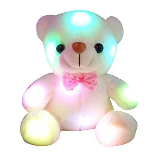 Catkoo Juguete de Peluche, luz LED, Oso de...
