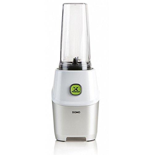 Domo DO700BL Batidora de vaso 0.53L 1000W Metálico, Color blanco - Licuadora (Batidora de vaso, 0,53 L, Metálico, Color blanco, 17215 RPM, 25825 RPM, 1000 W)