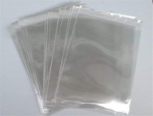 C6Cello Taschen–250Stück–Kristall clear- 40Mikron dicker Hohe Qualität–Versand am gleichen Tag