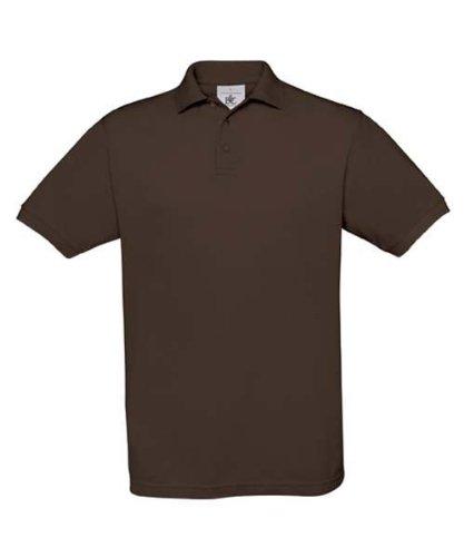 Piqué Poloshirt 'Safran' Brown