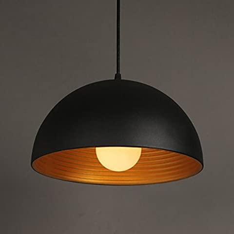 1 M E2718 * 20cm spettro creativo lampada da lampadario rotondo il camino ferro pendente in bianco e nero