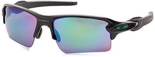Oakley Herren Flak 2.0 XL 918877 59 Sonnenbrille, Schwarz (Matte Black/Prizmjadepolarized),