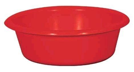 ALUMINIUM ET PLASTIQ Cuvette Ronde, 32 x 11 cm, 5 L Rouge