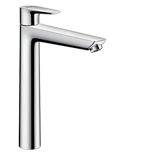 hansgrohe Talis E Einhebel-Waschtischmischer, Komfort-Höhe 240mm, ohne Ablaufgarnitur, chrom -