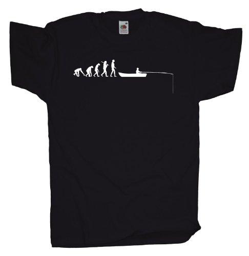 Ma2ca - Evolution - Angler Fischer T-Shirt Black