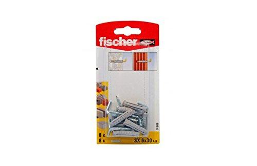 Fischer sx 6 ak - Taco alcayatas sx 6 ak blister