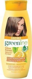 Aroma Greenline Hair Rebalance With Citrus Extract Shampoo 250 ML