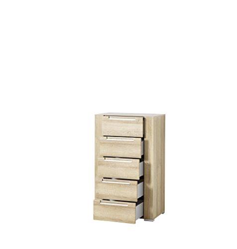 Paul DORRA61023 Kommode, Holz, braun, 41 x 65 x 110 cm - 2